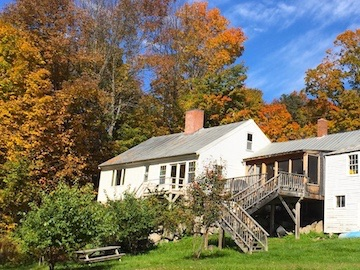 Back of Home in Autumn, 15 River Rd, Phillips, ME 04966
