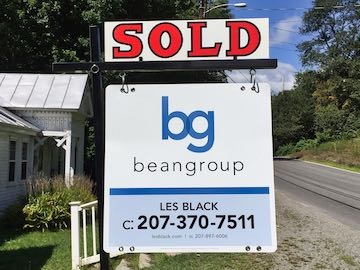 Sold by Les Black, Real Estate Broker with the Bean Group